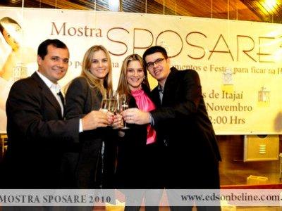 Coquetel de Lançamento Mostra Sposare 2010